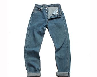 27-28 waist | 1980's Vintage Levi's 501 High Waist Denim