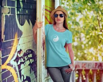 Women's Gardener T-Shirt / Gardener t shirt / Gift for gardeners / Womens t shirt/ Yin Yang /Inspirational t-shirt / Life is Balance®