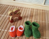 Pre-order: BJD tiny Lati yellow shoes boots Choose your color