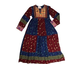 Cutest Ever Afghan Embroidered Dress