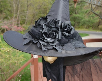 Black Roses Witch Hats