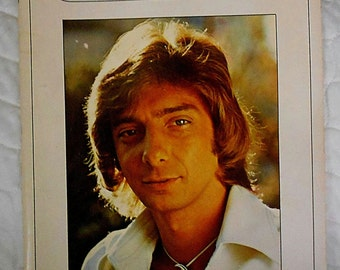 Vintage Barry Manilow Music Book  1978
