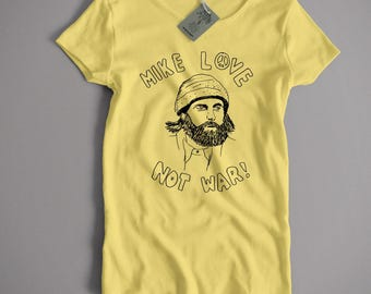 Old Skool Hooligans Inspired by The Beach Boys T Shirt - Mike Love Not War
