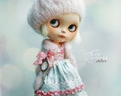 FLOWER CONFETTI Blythe Set By Odd Princess Atelier, Special Occasion Romantic Outfit