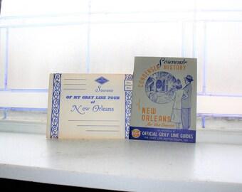 New Orleans Souvenir Book 1940s Gray Line Tour