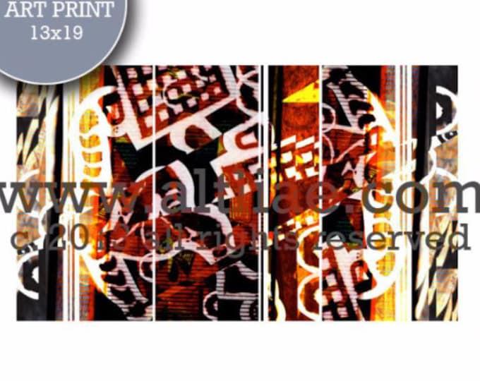 LASCAUX ii - Edition Art Print of an original digital collage