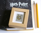 Time Turner Print Harry Potter Print Book Worm Print Framed Print Book Lover