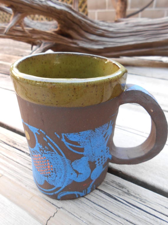 Grass and Clouds Ceramic Mug