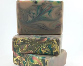 karma - fierce abercrombie and fitch type - Handcrafted Vegan Soap, Cold Process Soap, Handmade Soap, EvieSoap, shea butter, palm free