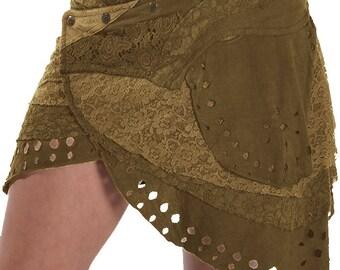 SALE!!! PIXIE skirt, ASSORTED COLOURs - psytrance skirt, elf skirt, ethnic skirt, goa Skirt, wrap Skirt, Pixie Mini Skirt, Mfskpf
