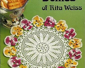 Favorite Doilies Of Rita Weiss Thread Crochet Pattern Book American School of Needlework 1022