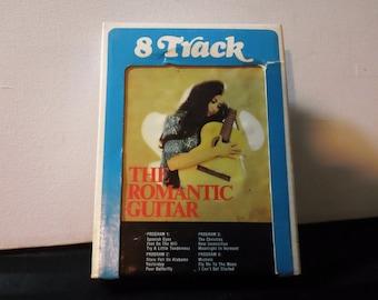 The Romantic Guitar ~ 8T 444 ~ 8-Track Tape Cartridge (Audiomasters,197?)