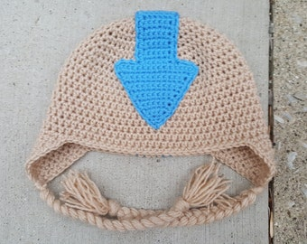 Aang Inspired Hat from Avatar the Last Airbender