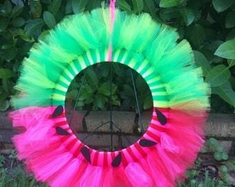 "12"" Watermelon Wreath"
