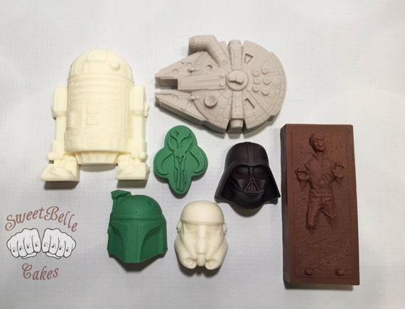 Star Wars Chocolates Gift Pack. Truffle and Solid Chocolate Selection. Variety pack.