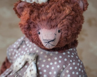 OOAK Artists Teddy Bear pattern, teddy bear pattern, pdf pattern, teddy pattern, plush bear, soft toy pattern