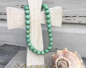 Blessing Beads Cross/Wooden Cross/Baptism Cross/Wedding Cross/Gift Cross/Religious Gift