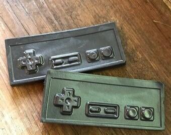 Funny Gamer Soap, NES Controller Soap, Set of 2, NES Soap, Funny Soap, Gamer Gift, Dad Gift, Fathers Day Gift, Joke Gift, Gag Gift