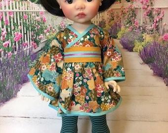 Kimono Dress fit Saffi by My Meadow