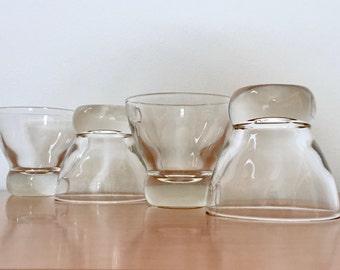 Eva Zeisel Federal Prestige Juice Glasses -- Set of 4