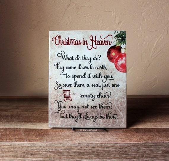 Crush image inside christmas in heaven poem printable