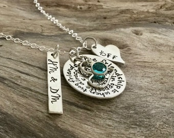 Friendship Gift | Best friend birthday gift | Friendship Necklace | Long distance friendship | Best friend jewelry | Friendship necklace set
