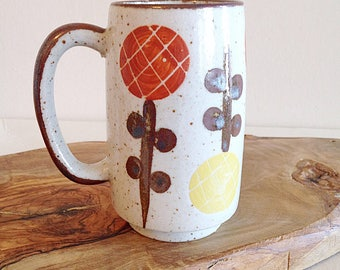 Retro Lollipop Flower Mug