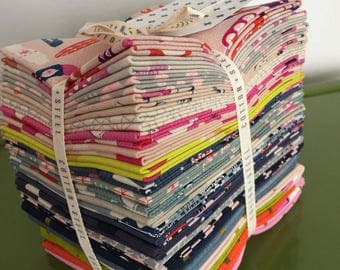 Flash Sale - Cotton and Steel Jubilee by Melody Miller Fat Quarter Bundle
