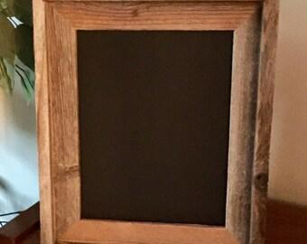 Rustic Barnboard Framed Primitive Chalkboard