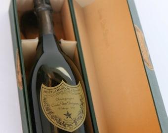 1975 Dom Perignon in original case, unopened
