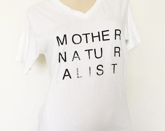 mother naturalist tshirt vintage jockey undershirt medium 38-40 that was once my dad's shirt