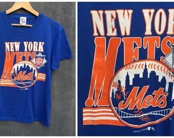 1990 New York Mets Official MLB T-shirt - Men's Size Medium