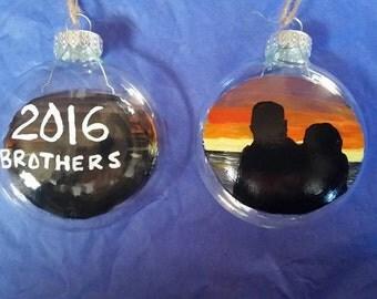 Sibling Ornament