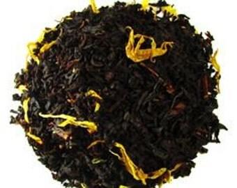 Passion Fruit Loose Leaf Tea / Black Tea / Passion Fruit / Full Leaf Tea / Organic Tea
