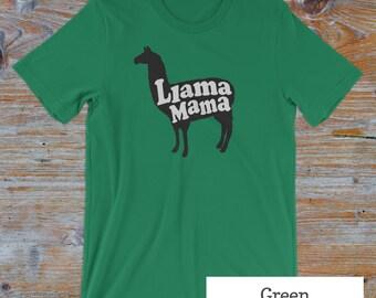 Llama Mama T-shirt, llama shirt, funny shirts for her, funny mom shirt, gifts for mom