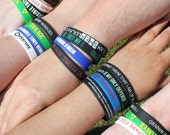 4 Pack of Wristbands