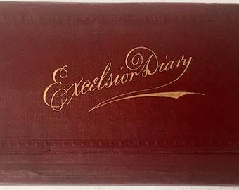 Manuscript-Druggist - Excelsior Diary