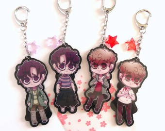 Killing Stalking Double Sided Keychains