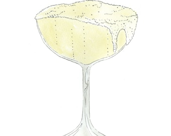 Cheers! Sparkling Champagne Art Print