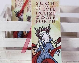 Thranduil  - illustrated paper bookmarks, print