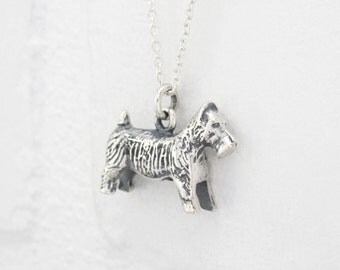 Silver Monopoly Dog Pendant. Monopoly Terrier Dog Token Necklace. Sterling Silver Pet Memorial Jewelry. Techie Geek Jewelry. PLAY Collection