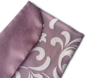 Mauve Lingerie Bag Travel Underwear bag