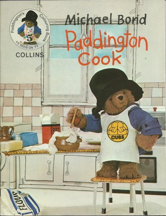 1977 PADDINGTON BEAR COCINAR  libro de por EveryPicTellsAStory