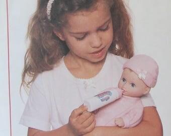 Vintage 1995 McCalls  Crafts Water Babies Doll Clothes Pattern #7982  UNCUT