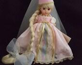 1996 Madame Alexander Rapunzel Doll Legends  Storybook Classics Collection Princess Valentine's Birthday Gift