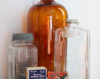 Vintage Gummed Labels, Gummed Reinforcements