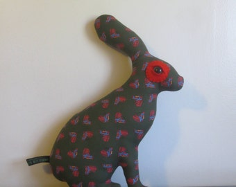 SALE OOAK Giddy the Jack Rabbit Love Creature by Look What I Can Do Handmade in USA Bunny Love