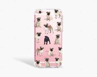 PUG iPhone 7 Case, Pug iPhone 7 Plus Case, Pug Samsung Galaxy S7 Case, Pug iPhone SE Case, Dog Phone Case, Pug iPhone 6 Case, Pug Phone Case