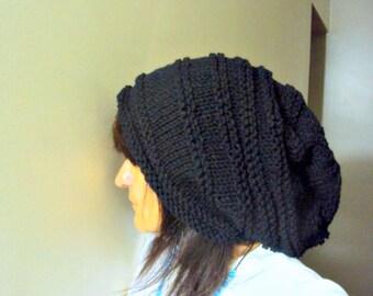 Oversized Hat Super Slouchy Beanie Baggy Hat  Celebrity Hat  Dreadlock Hat Gift Ideas