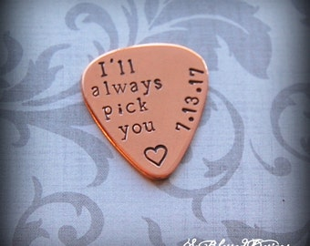 Personalized Groom Gift, Ill always pick you, custom gift for bride or groom, wedding day gift to groom, anniversary gift, wedding gift